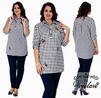 a2bd9356396 Стильная рубашка коттон в категории блузки и туники женские в ...