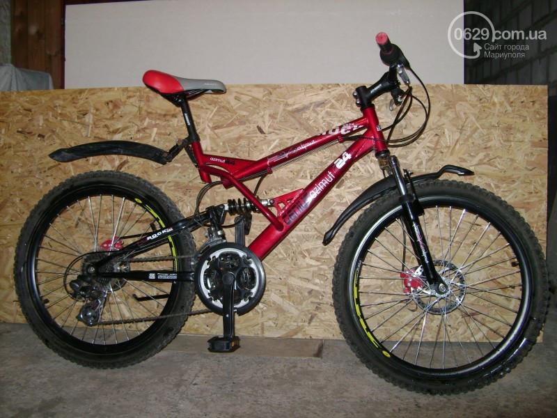 """Подростковый велосипед AZIMUT GENIUS 24"""" 15""""  Красный"""