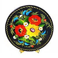 Деревянная тарелка Радость