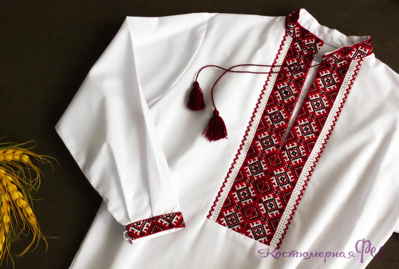 Украинская вышиванка для мальчика