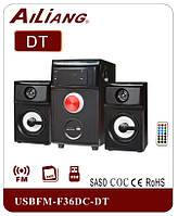 Акустическая система PC 2.1 AiLiang F-036 USB/FM+пульт