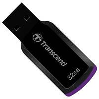Флеш память 32Gb USB2.0 Transcend JetFlash 360 Black (TS32GJF360)