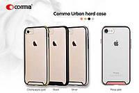 Накладка для iPhone 7 силикон / пластик Comma Urban Черный