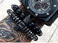 Мужской каменный браслет mod.Paradigm 2 браслета, фото 1