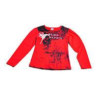 Реглан красного цвета Duds Mlfns для девочки, Aat