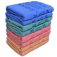 Стильное полотенце листочки. Лицевые полотенца 8 шт в уп. Размер 50х90 100% хлопок полотенце оптом большой опт