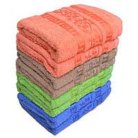 Стильное полотенце с цветами. Лицевые полотенца 8 шт. Размер 50х90 100% хлопок Венгрия
