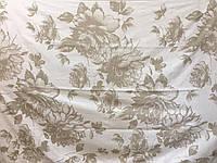 Простынь  махровая  (хлопок\лен)  208*150 Вальс цветов