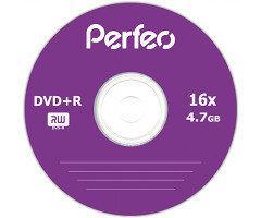 Диски Perfeo DVD+R 4,7 GB 16x, Bulk/50, серебристый (CMC Magnetics)