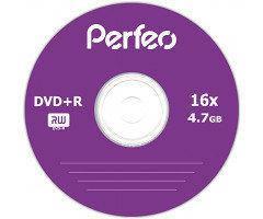 Диски Perfeo DVD+R 4,7 GB 16x, Bulk/50, сріблястий (CMC Magnetics)