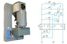 Электродвигательный привод БДУ для ВА 77-1
