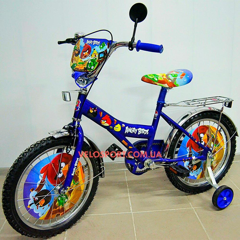 Детский велосипед Mustang Птички 18 дюймов