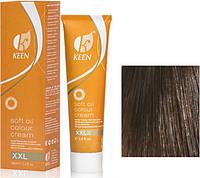 """Keen Soft Oil Крем-краска для волос """"Мягкое тонирование"""" 6.0 светло-коричневый, 100 мл"""