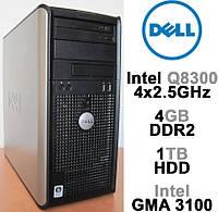 Dell Optiplex 755 - 4 ЯДРА / 4GB DDR2 / 1TB HDD