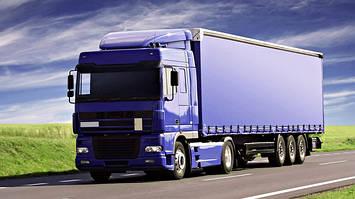 Тенты ПВХ на грузовые автомобили, прицепы, полуприцепы