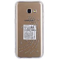 Накладка для Samsung A320 Galaxy A3 (2017) силикон Diamond Silicon Younicou Milky Way