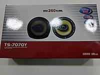"""Автоколонки TS-7070Y max 260 W 6"""", автомобильные колонки"""