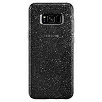 Накладка для Samsung Galaxy G950 S8 пластик Spigen Liquid Crystal Glitter Space (565CS21616)