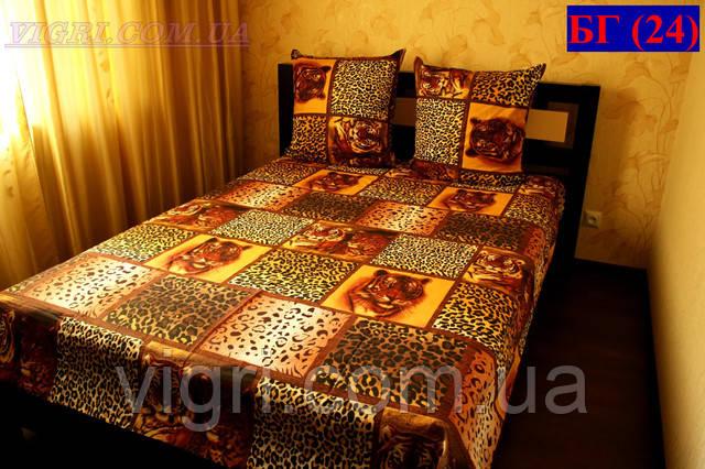 Бязь Gold, постельное белье, ЕВРО комплект. БГ24