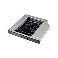 Адаптер для підключення HDD 2.5'' у відсік приводу ноутбука SATA/mSATA Slim 9.5 мм (HDC-24) Grand - (HDC-24)