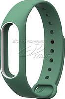 Ремень для браслета Xiaomi Mi Band 2 Dark Green (Р28512)