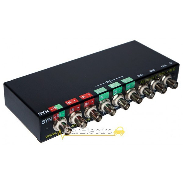 DISCO-4 Pro usb осциллограф