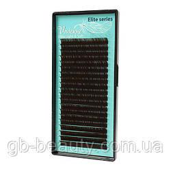 Черный-Шоколад  ресницы растяжка  Elite 0,12 L 4-7 (20 линий)