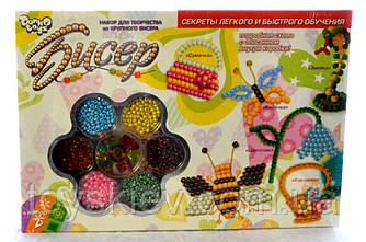 Набор для творчества из крупного бисера Danko Toys 1. Б6-2