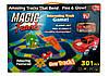 Magic Tracks 301 деталь. В набор входят 301 деталь, включая мост и колесо.Трек отлично светится в темноте!