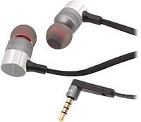 Наушники вакуумные с микрофоном AWEI ES-20TY Grey