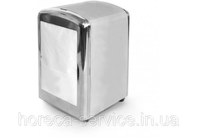 Диспенсер для салфеток металический Silver Pro-Service, фото 2