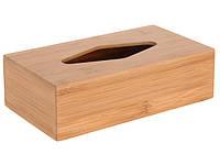 Диспенсер для салфеток деревяный пенал Fesko