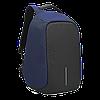 """Городской рюкзак Bobby антивор 15,6"""" с системой usb-зарядки xd design синий"""