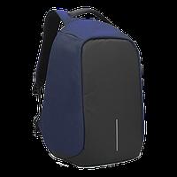 """Городской рюкзак Bobby антивор 15,6"""" с системой usb-зарядки xd design синий, фото 1"""