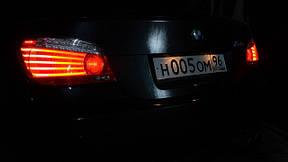 E60/61 2003-2012 задние фонари