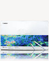"Набор цветных карандашей (металл.коробка) 36шт/36цв. ""Raffine"" MARCO 7100-36TN"