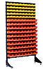 Стелаж під метизну продукцію лоточками Тячів
