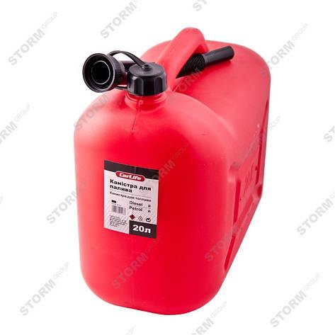 Канистра для бензина CarLife CA20 20л, фото 2