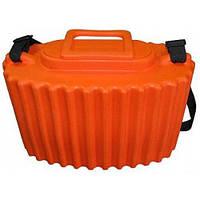 Кан для живца оранжевый, объем 8 литров