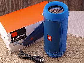 Колонка беспроводная Charge 2 Синий Bluetooth, фото 3