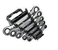 Набор ключей трещеточных 5 предметов 6 - 22 мм GEKO G10046