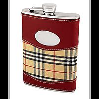 Фляга подарочная. Фляжка для алкогольных напитков. Подарок для охотников.