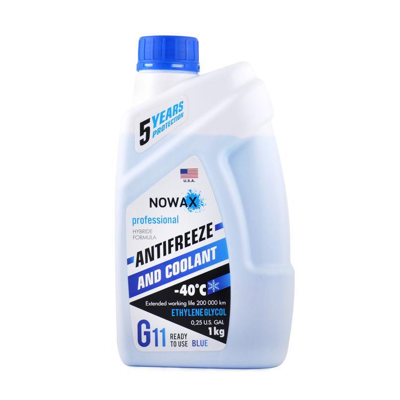 Антифриз NOWAX G11, цвет: синий