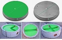 Железобетонные днища колодцев с полиэтиленовыми вкладышами Geoplas НDPE
