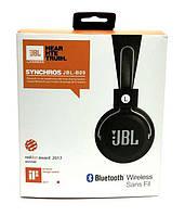 Беспроводная накладная Bluetooth гарнитура  JBL-B09 блютуз+MP3 плеер+FM радио