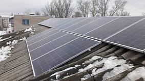 Рубежное сетевая солнечная электростанция под зеленый тариф 10 кВт Huawei