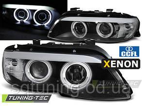 Фари BMW X5 E53 11.03-06 BLACK CCFL XENON