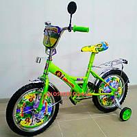 Детский велосипед Mustang Мадагаскар 18 дюймов