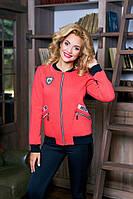 Толстовка теплая Ann Гранд красная, фото 1