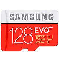 Карта памяти MicroSDXC 128Gb Class 10 Evo Plus (SD адаптер) Samsung (MB-MC128DA / RU)